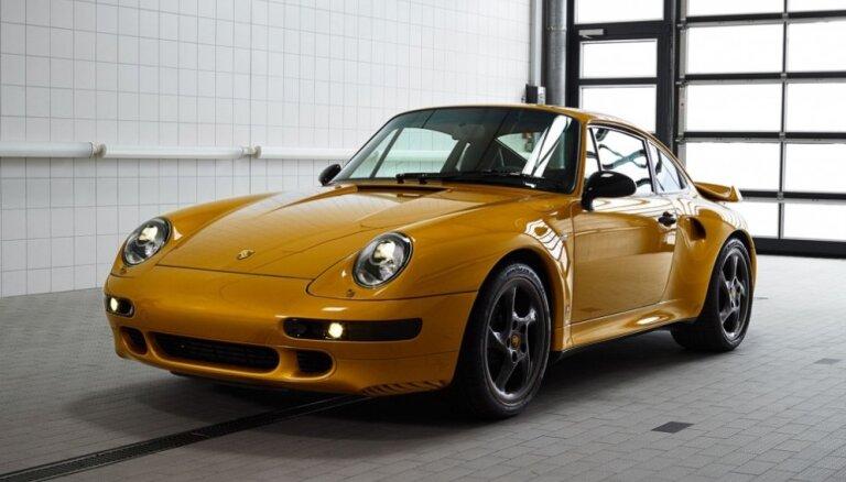 'Porsche' rūpnīcas unikālā restaurācijas projekta auto pārdots par 2,7 miljoniem eiro