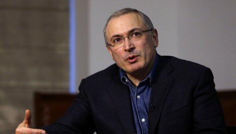 Ходорковский: сотни людей могут стать мишенью Кремля
