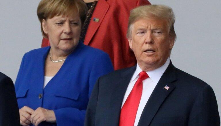 Aptauja: lielākā daļa vāciešu uzskata, ka Eiropa var sevi aizstāvēt arī bez ASV atbalsta