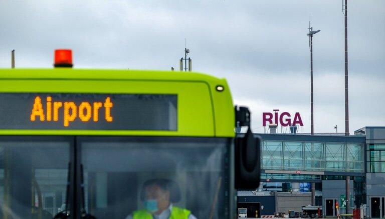 В Рижском аэропорту за семь месяцев обслужено на 65% пассажиров меньше