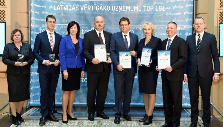 Опубликован новый рейтинг самых ценных предприятий Латвии и Балтии