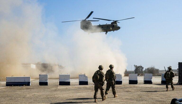 ASV bāzēs Irākā un Sīrijā izsludina trauksmes stāvokli