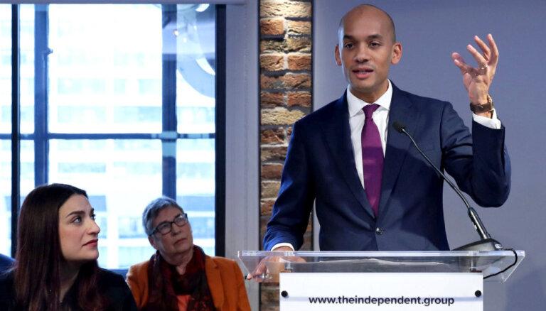 Septiņi parlamentārieši 'Brexit' un antisemītisma dēļ pamet leiboristus