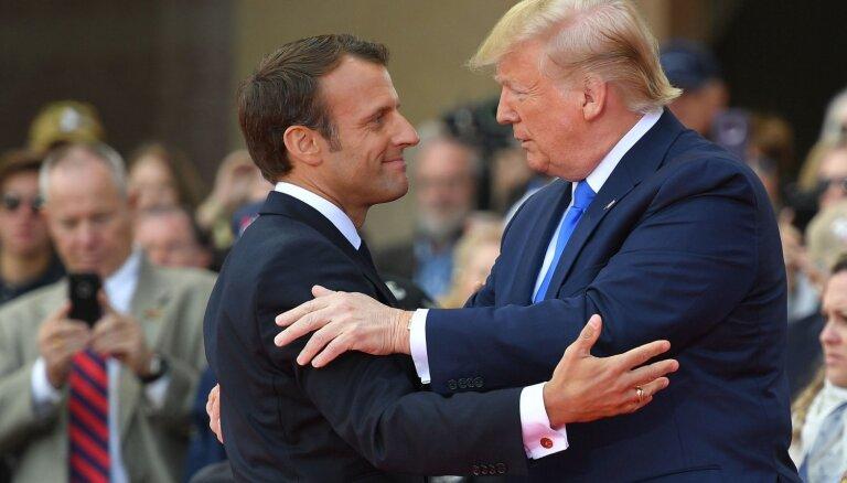 """Трамп заявил об отказе Макрона от слов о """"смерти мозга"""" НАТО"""