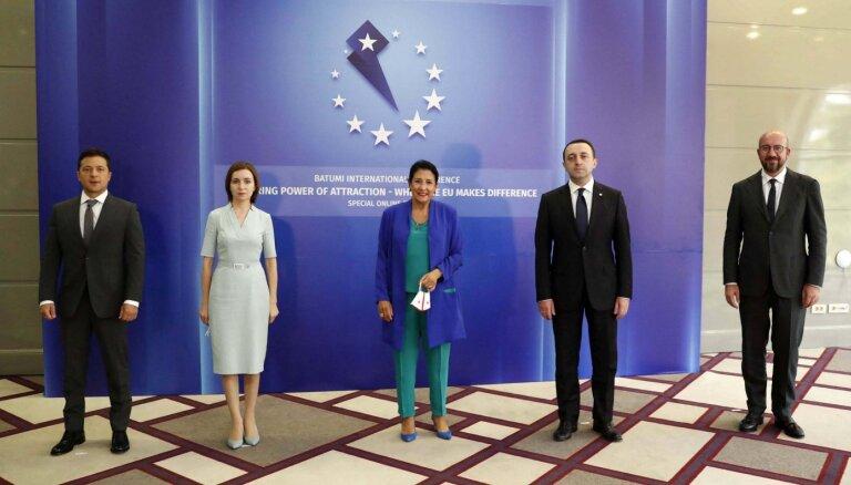 Грузия, Молдова и Украина заявили на конференции в Батуми о стремлении в ЕС