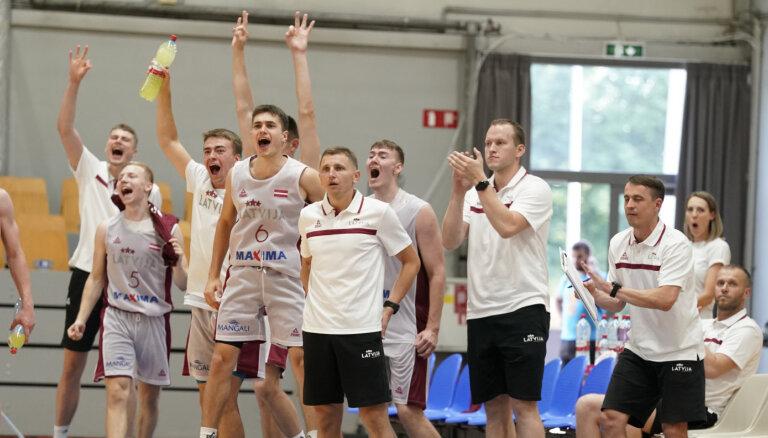 Latvijas U-19 basketbola izlases likstas un radošie risinājumi pirms Pasaules kausa