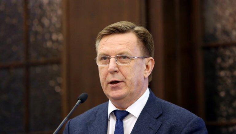 Mediķu algu pieaugums 2019. gadā ir jaunās valdības atbildība, uzskata Kučinskis
