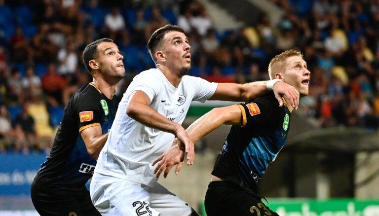RFS vēlreiz uzvar pāra favorītus un iekļūst UEFA Konferences līgas trešajā kārtā