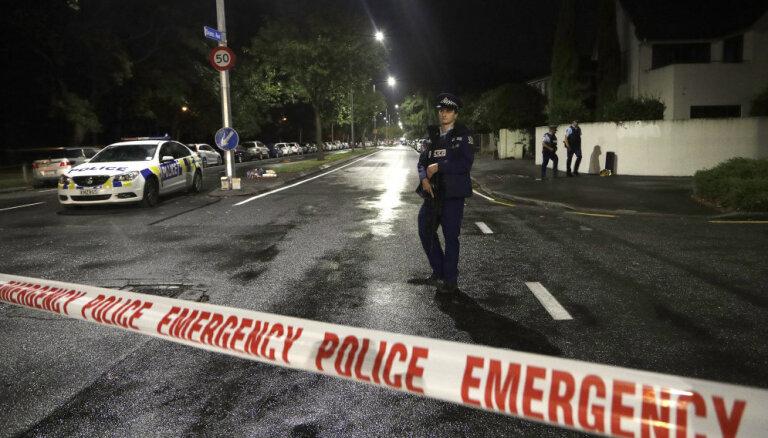 Jaunzēlandes mošeju slaktiņa rīkotājam izvirzīs apsūdzības 50 slepkavībās