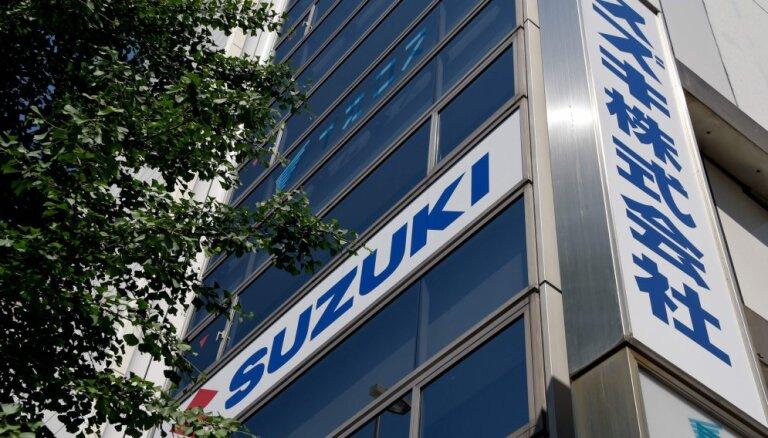 Глава Suzuki уходит в отставку после скандала с фальсификацией данных