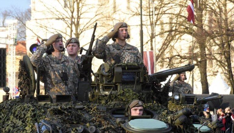 ФОТО, ВИДЕО: парад, посвященный 100-летию провозглашения независимости Латвии
