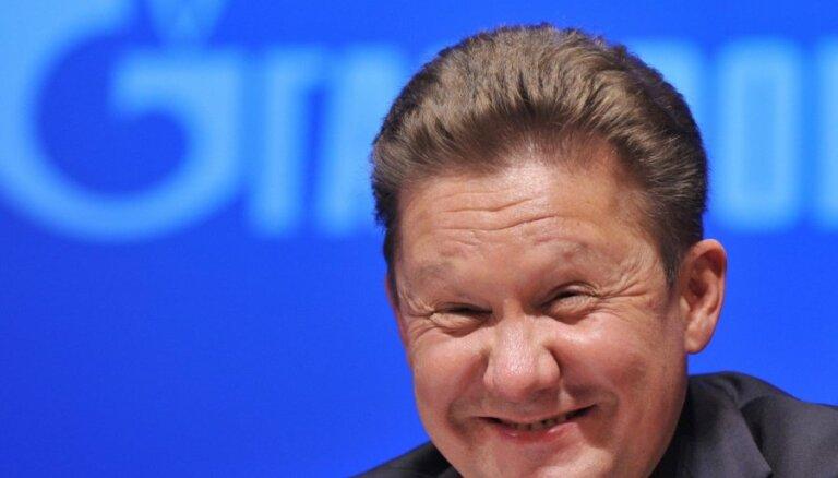 """Председатель правления """"Газпрома"""" рассказал о препятствиях """"Северного потока-2"""""""
