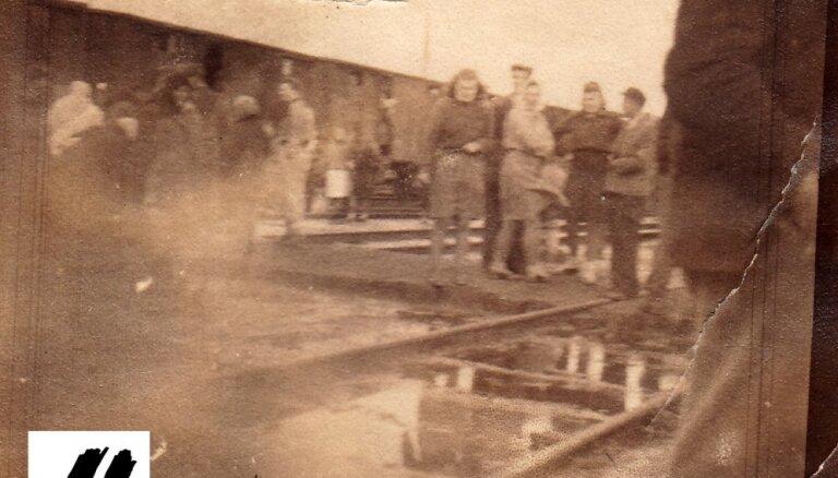 Publicēta līdz šim nezināma fotogrāfija no 1949. gada 25. marta deportācijām