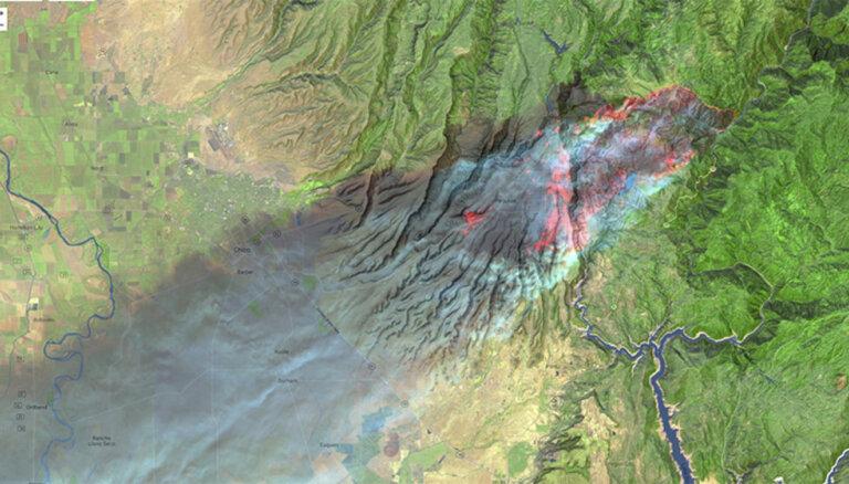 Video: Nežēlīgās liesmas Kalifornijā paņēmušas vismaz 66 dzīvības