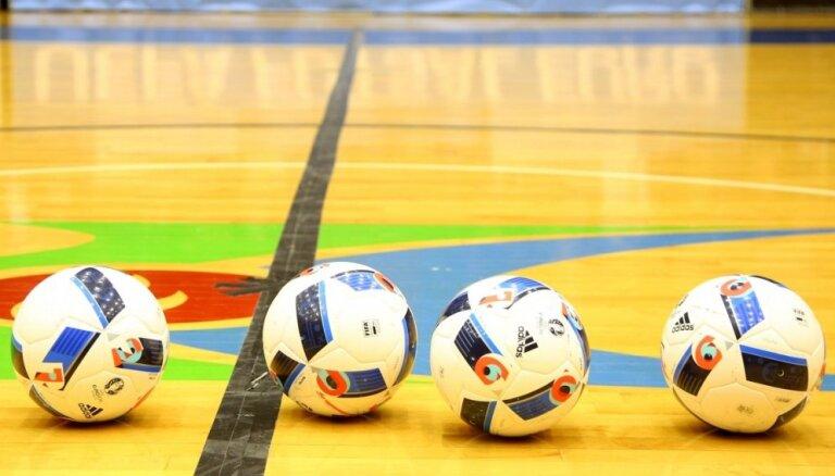 UEFA uztic Latvijai rīkot pirmo Eiropas U-19 čempionātu telpu futbolā