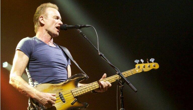 Стинг возвращается в Ригу с программой Sting: My Songs