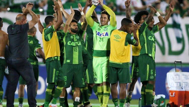 ВИДЕО: Из-за трагедии с бразильским клубом отменен финал Южноамериканского кубка