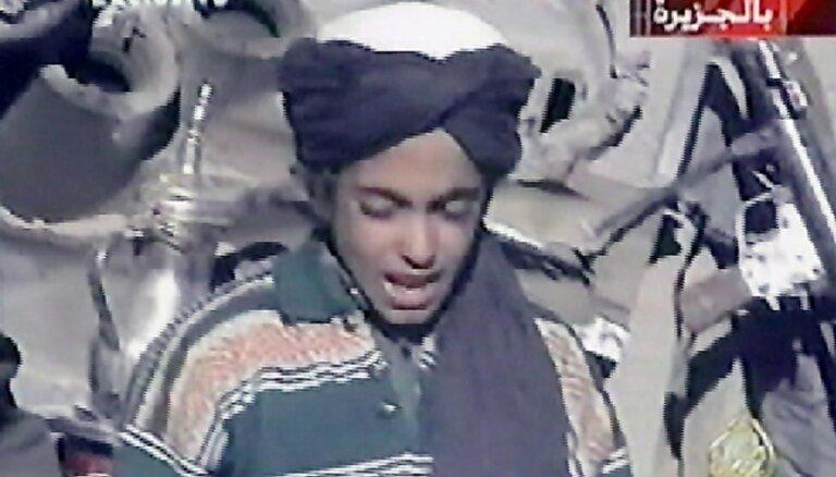 ASV teroristu 'melnajā sarakstā' iekļauj Osamas bin Ladena dēlu