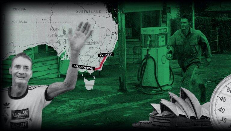 Čempions gumijas zābakos. Kā 61 gadu vecs fermeris nejauši vinnēja skarbāko ultramaratonu