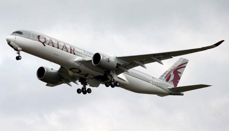 Nosauktas pasaulē labākās aviokompānijas 2019. gadā; pirmajā vietā – 'Qatar Airways'