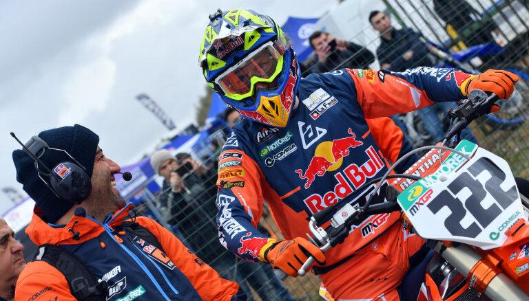 Kairoli vēl vienu sezonu pārstāvēs MXGP komandu 'Red Bull KTM'