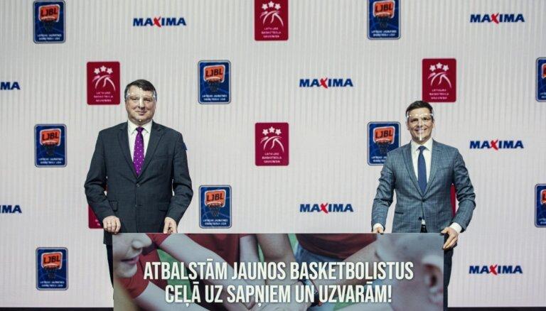 Par LBS ilgtermiņa partneri jaunatnes basketbolā kļūst 'Maxima Latvija'