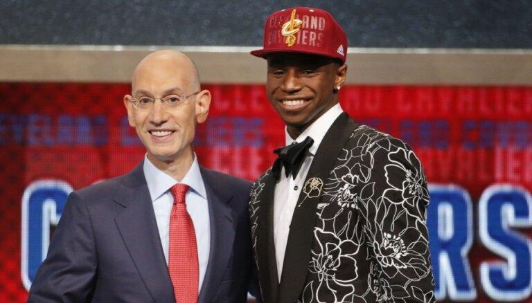 Siliņu neizvēlas NBA draftā; pirmais numurs tiek Viginsam