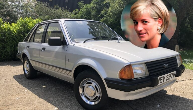 Ford Escort принцессы Дианы продан на аукционе за рекордную сумму