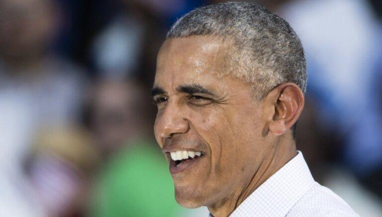 """Обама посоветовал Латвии """"продолжать рефлексировать на тему свободы и демократии"""""""