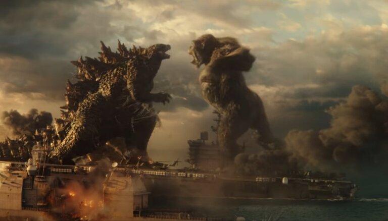 Divu leģendāru milžu cīņa – pirmais ieskats ilgi gaidītajā 'Godzilla vs. Kong'