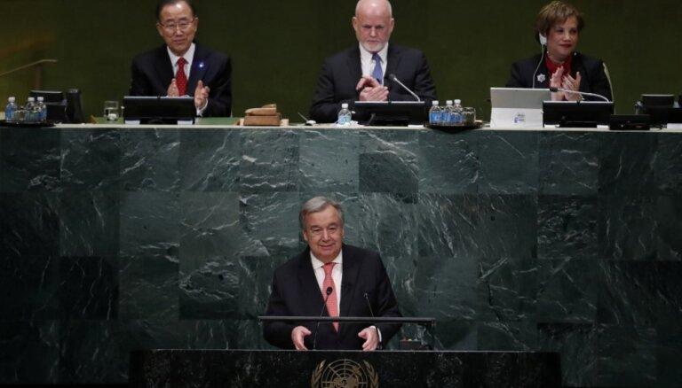 Генсек ООН призвал немедленно прекратить бои в Сирии
