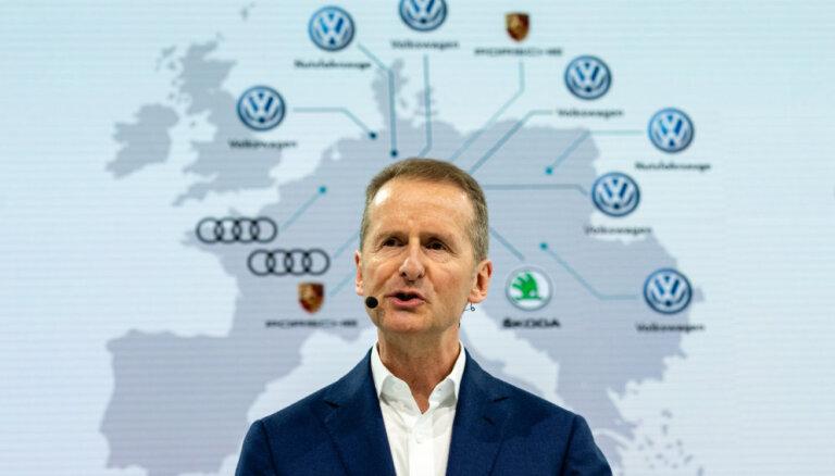 VW likvidēs līdz 7000 darbvietu ar ikdienas uzdevumu automatizēšanu