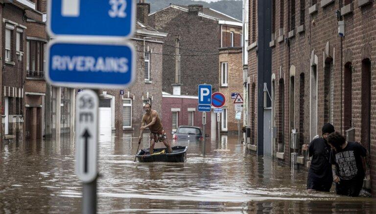 Жертвами наводнений в Бельгии стали минимум 20 человек