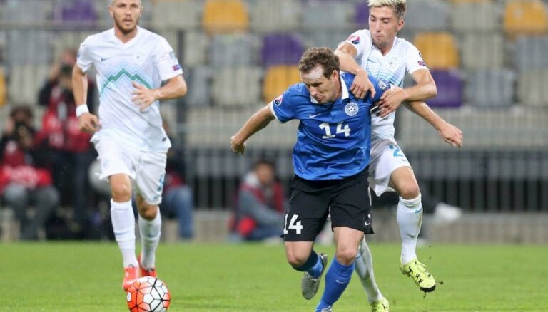 ВИДЕО: Первая победа в отборе ЧМ-2018 эстонцев и прекрасный гол Васильева