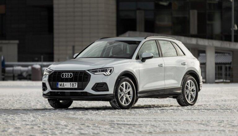 Tirdzniecībā Latvijā nonācis jaunais 'Audi Q3' apvidnieks