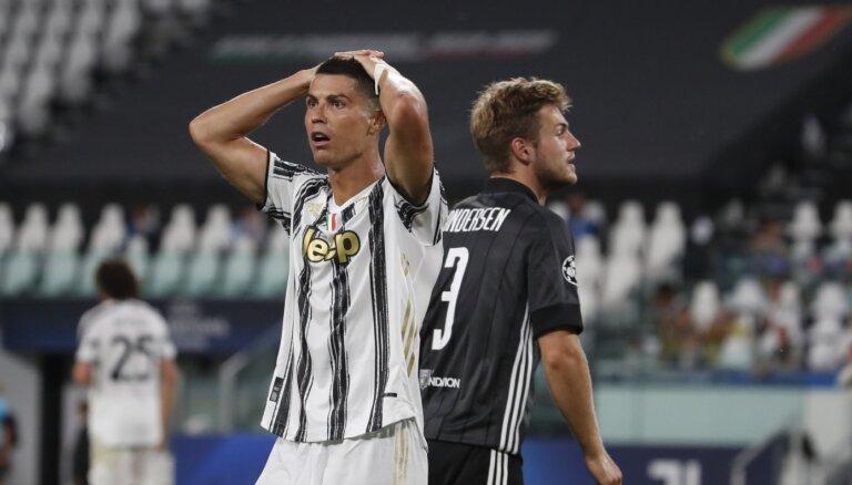 'Juventus' un 'Real Madrid' neiekļūst Čempionu līgas ceturtdaļfinālā
