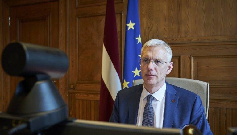Кариньш пока не комментирует потенциальные изменения в правительстве
