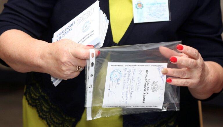 Izsludina Rīgas domes ārkārtas vēlēšanu rezultātus