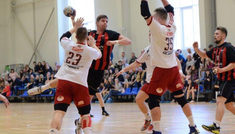 Dobeles 'Tenax' handbolisti atgriežas Latvijas čempionu tronī
