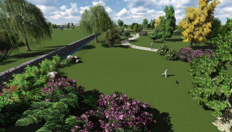 В районе Сканстес появятся новые улицы и парк