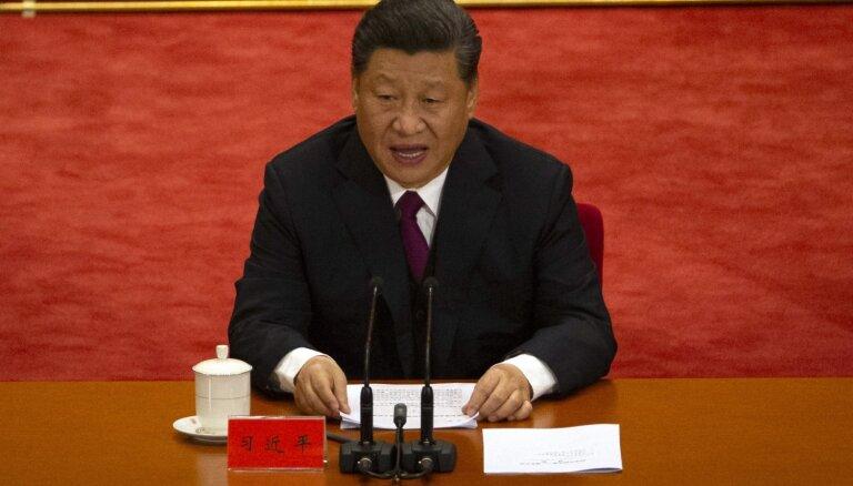 Sji aicina jaunatni mīlēt Komunistisko partiju