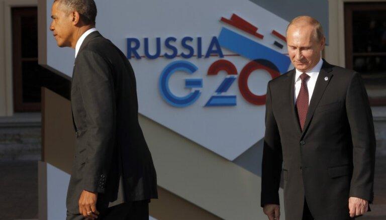 Brazīlija, Ķīna un Indija iebilst pret Krievijas izslēgšanu no G20