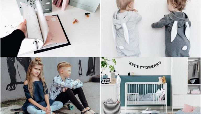 Latvijā darināti apģērbi, bērnu aksesuāri un radošās darbnīcas: gaidāmais izstādē 'Bērnu pasaule 2019'