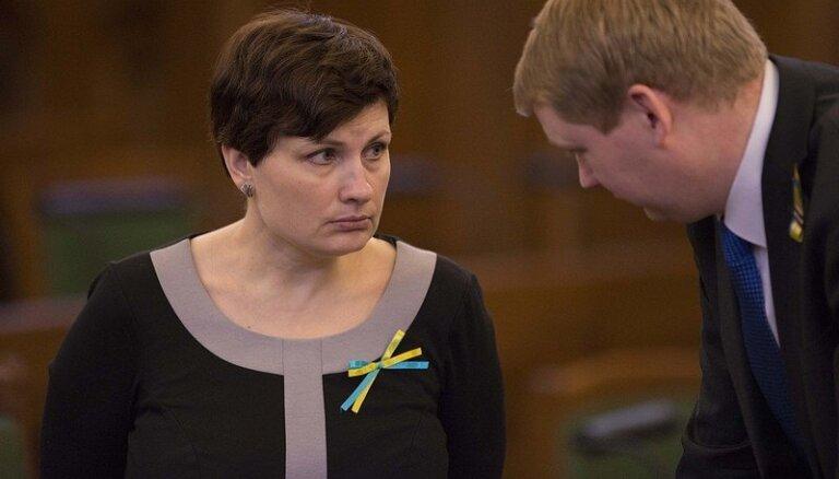 Saeimas deputātu grupu sadarbībai ar Ukrainas parlamentu turpmāk vadīs Viņķele