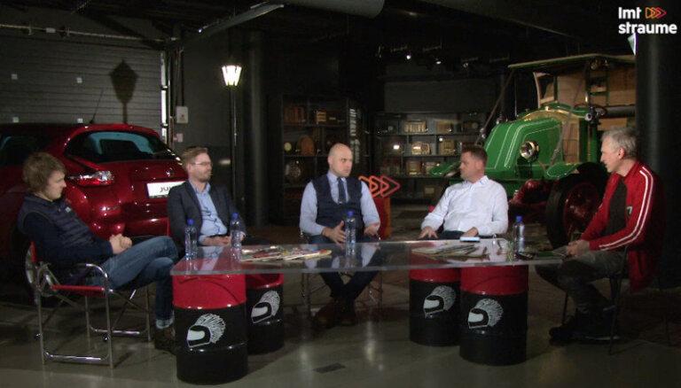 'Ātruma cilts' diskusija: Kulbergs, Šlēgelmilhs un Jeršovs par LAF prezidenta vēlēšanām