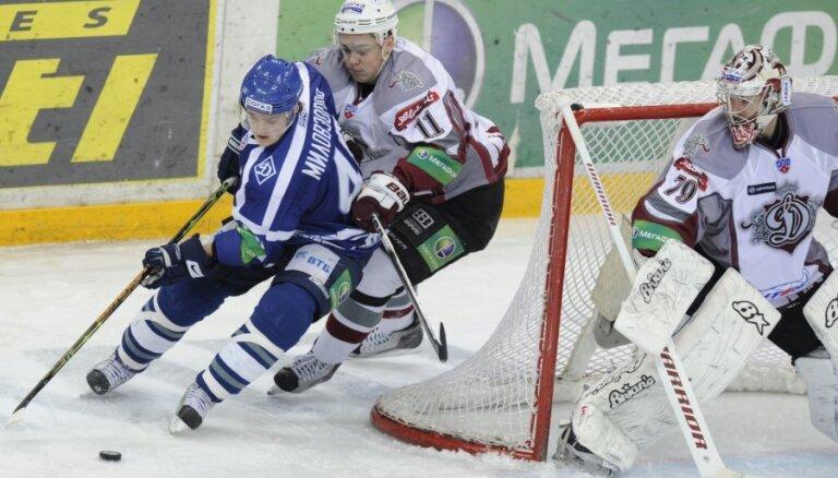 Rīgas 'Dinamo' var iekļūt Gagarina kausa ceturtdaļfinālā