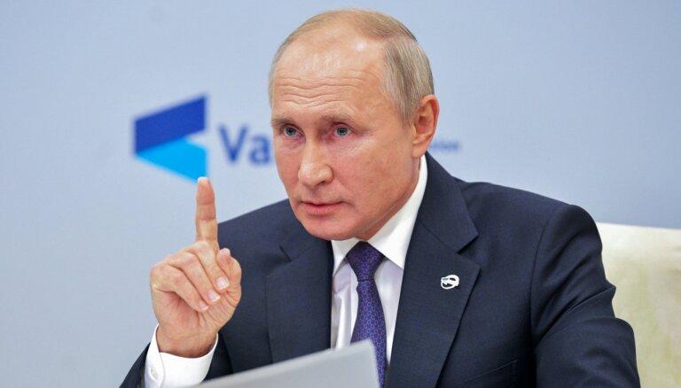Путин продлил продуктовое эмбарго до конца 2021 года
