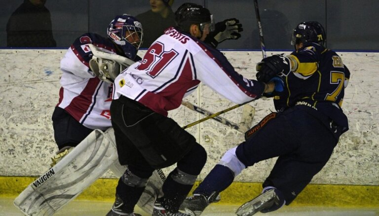 Pastarīte 'Prizma' OHL mačā negaidīti uzvar čempioni 'Kurbadu'