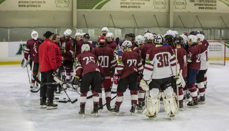 Молодежка Латвии победой над белорусами избежала вылета на ЧМ по хоккею