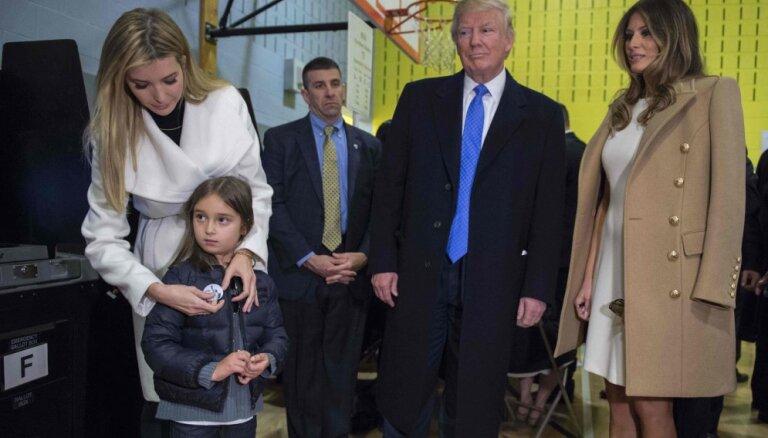 Пятилетняя внучка Трампа хочет стать морским пехотинцем